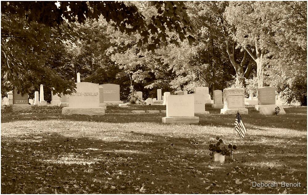 Franklin Cementery by Deborah  Benoit