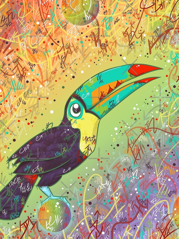 Toucan Can Do it! by vanillakirsty
