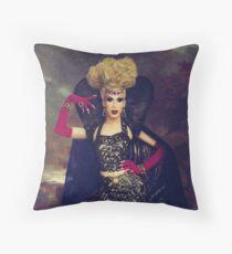 Queen Alaska Thunderfuck Throw Pillow