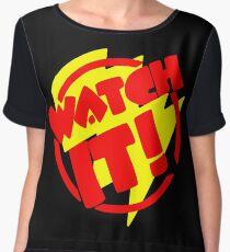 Watch It! Women's Chiffon Top