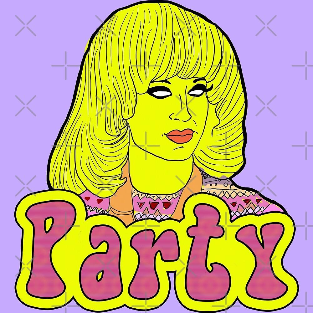 Party - Katya Zamolodchikova by guirodrigues