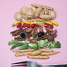 Hoorray For Veggie Burgers! by Stephanie KILGAST
