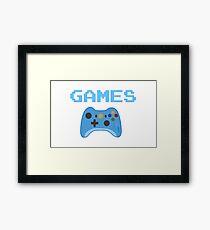'Games'  Framed Print