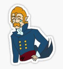 Regency Era Coran Sticker Sticker