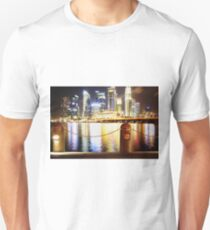 The Fullerton Hotel Singapore by night 2 T-Shirt