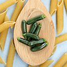 Zucchini & Pasta by Stephanie KILGAST