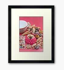Miniature Bakery and Pastry Heaven Framed Print