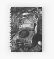 Abandoned Vehicle Spiral Notebook