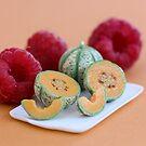 Tiny Melons Giant Raspberries by Stephanie KILGAST