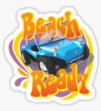 Beach Ready Buggy in Blue Sticker