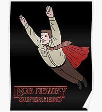 Bob Newby - Superhero Poster
