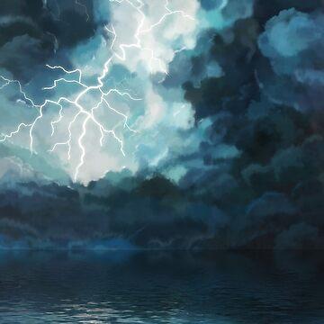Oceanic Night Storm by 3vaN
