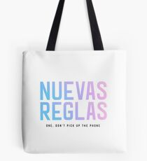 Spanish New Rules Tote Bag