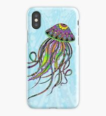 Electric Jellyfish iPhone Case