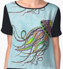Electric Jellyfish Women's Chiffon Top