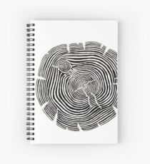 Tree Stump Spiral Notebook