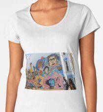 Mary Church Terrell Wandgemälde Premium Rundhals-Shirt
