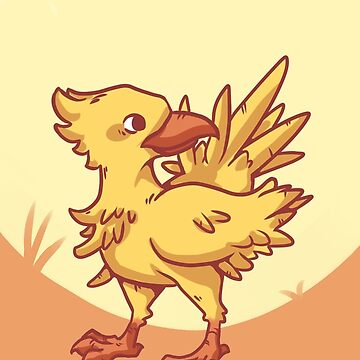 Chocobo by deadlykitten