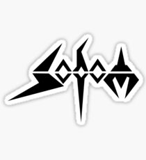 Band Sodom Logo Black Sticker