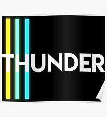 THUNDER - Imagine Dragons Poster