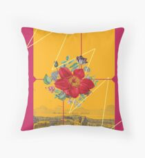 The City Of Flowers Throw Pillow