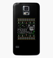Cute Maine Coon Christmas Cat Snow Man Gift For Christmas Cat Maine Coon T-Shirt Sweater Hoodie Iphone Samsung Phone Case Coffee Mug Tablet Case Case/Skin for Samsung Galaxy