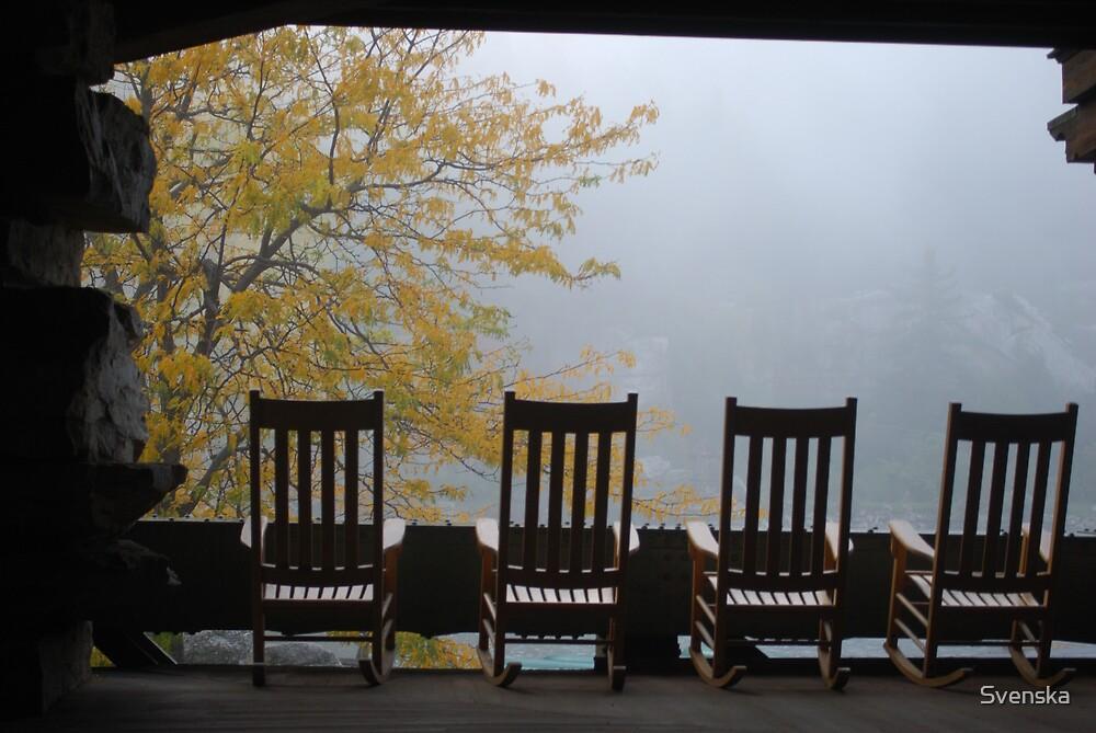 Foggy Chairs by Svenska
