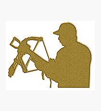 Golden Crossbow Photographic Print