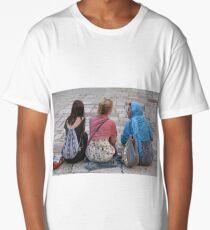 Triple Portret Long T-Shirt