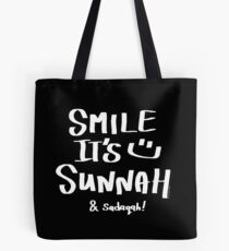 Lächeln, es ist Sunnah & Sadaqah II Tasche