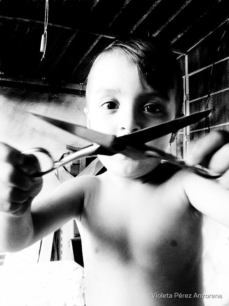 Kids Violence  by Violeta Pérez Anzorena