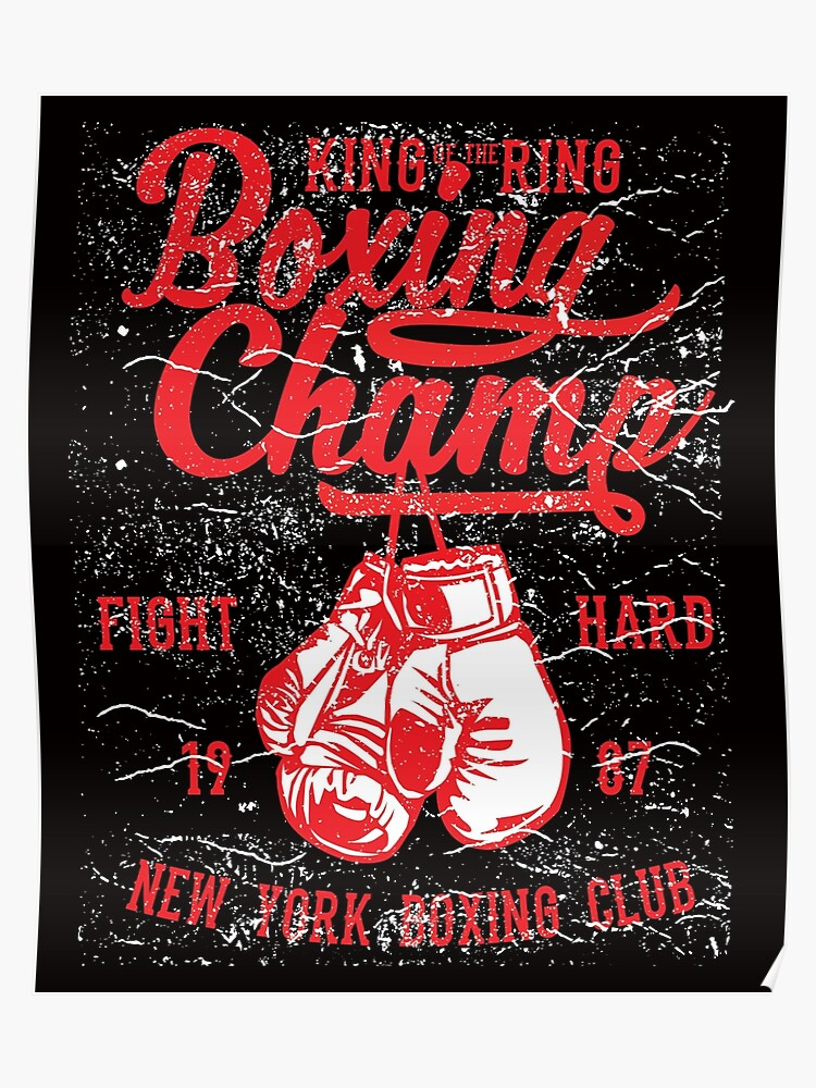 Boxing Champ New York Boxing Club | Poster