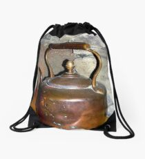 Copper Kettle Drawstring Bag