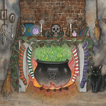 Witches Christmas Kitchen by VictoriaThorpe