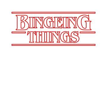 Bingeing Things by tee-fury