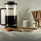 FRENCH PRESS COFFEE by Sharon A. Henson