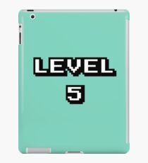 LVL 5 iPad Case/Skin