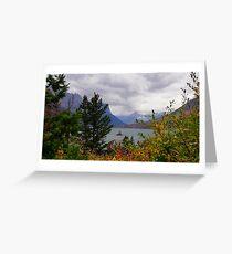Fall Framed Wild Goose Island Greeting Card