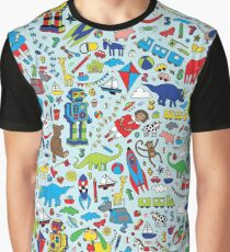 TOYS - fun pattern by Cecca Designs Graphic T-Shirt