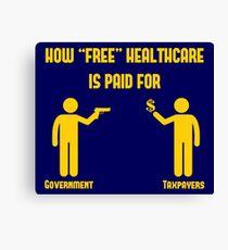 `Free` Healthcare Canvas Print