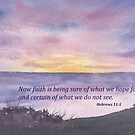 Faith- Hebrews 11:1 by Diane Hall