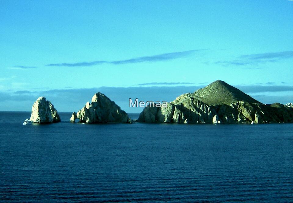 Islands in Blue by Memaa