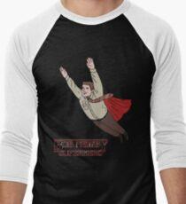 Bob Newby - Superhero Men's Baseball ¾ T-Shirt