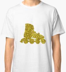 Golden Inline skate Sticker Classic T-Shirt