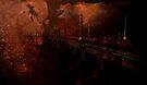 Diablo Dam Fire by Jeff Burgess