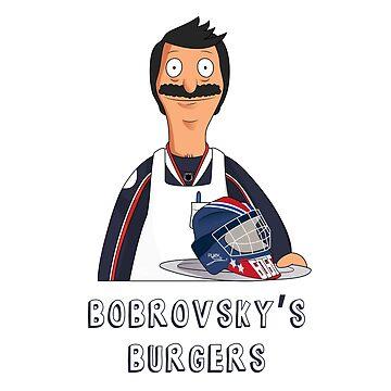 Bobrovsky's Burgers by katyapolo