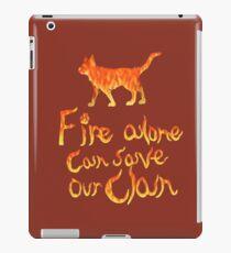 Fire Alone... iPad Case/Skin