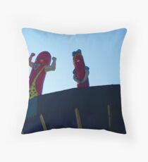 Maurie + Flaurie Throw Pillow