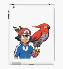 Ash and Talonflame iPad Case/Skin