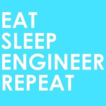 Eat, Sleep, Engineer, Repeat. by EngineeringMind